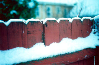 Snowonfence