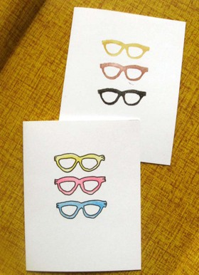 Glassescards