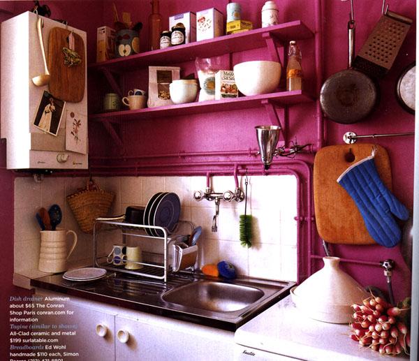 Цвет в интерьере.  Розовый.